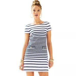NEW Lilly Pulitzer Layton Striped Shift Dress